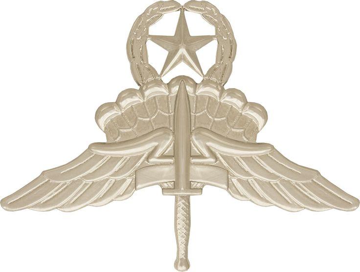 Military Free Fall Jump Master Badge (1994; SOCOM) (1997