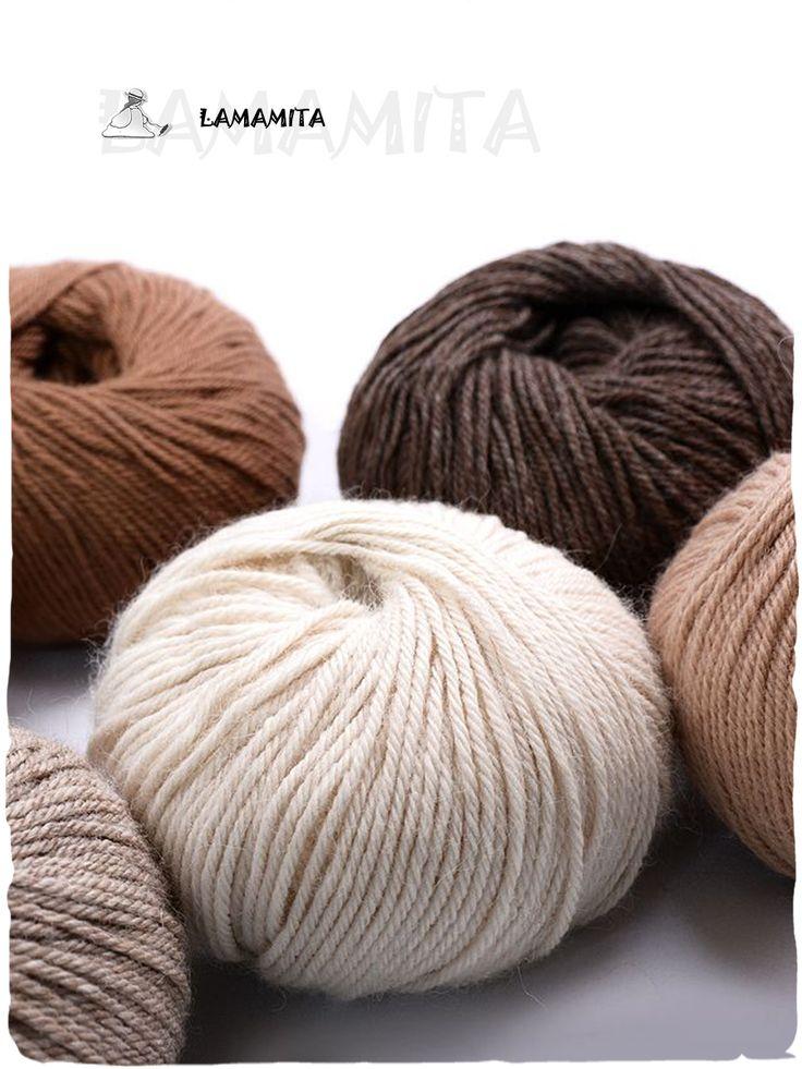 Filati di Lana di Alpaca Baby DK - @LaMamitaFashion  Realizzata in finissima #fibra, la nostra #alpaca #baby dk è un #filato #soffice e #meraviglioso. Ecco alcuni dettagli delle quantità necessarie se si vuole #lavorare a #maglia un maglione:  #Maglione donna taglia M = 500 gr.  #Maglione uomo taglia M = 650 gr.  #Maglione bimbo taglia M circa 10 anni = 350 gr. http://www.lamamita.it/store/abbigliamento-invernale/1/filati-lana/filati-di-lana-di-alpaca-baby-dk-la-mamita