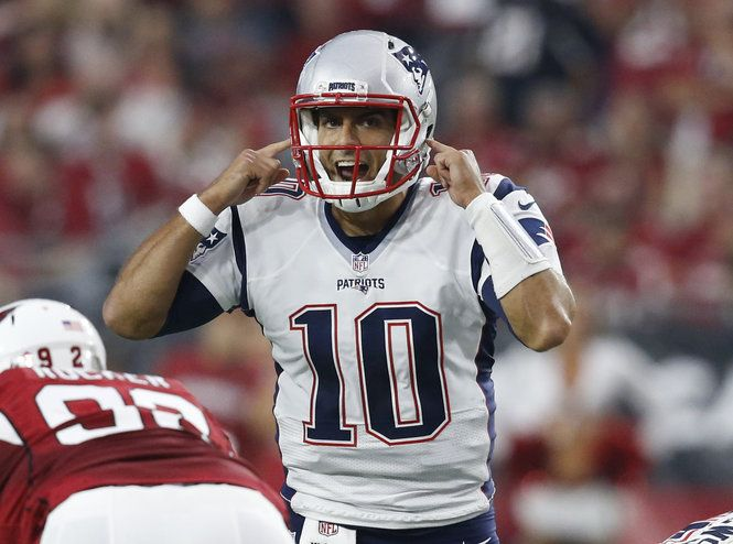 The New England Patriots have a steep asking price for backup QB Jimmy Garoppolo. They want the No. 1 overall pick from the Cleveland Browns.