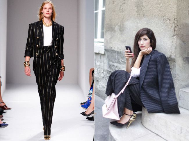 11 tricky trends and how to make them work for you (in the real world) gallery, by Vogue Australia - Pinstripes