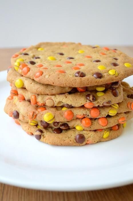 Reese pieces monster cookies
