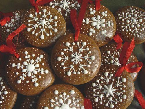 Sněhové vločky na vánoční stromeček