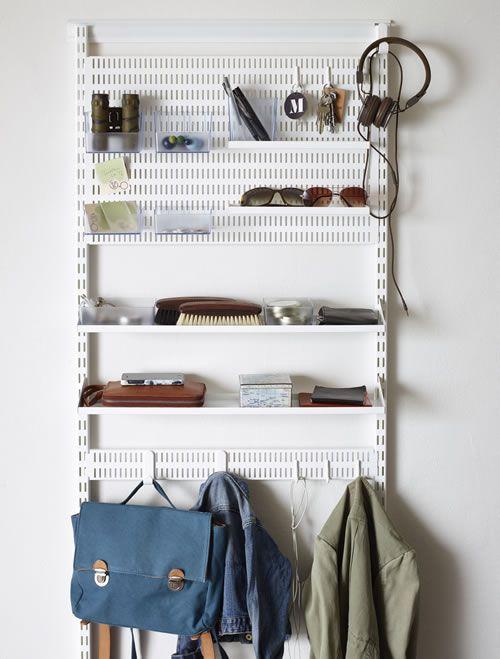 Elfa+Hallway+/+Cloakroom+-+Best+Selling+Solution+2