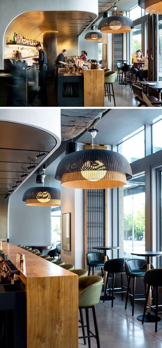 Wild Ginger Restaurant in Washington. Design by SkB Architects #Washington #Restaurant #Design #InteriorDesign #luxurydesign