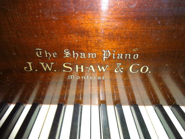 Small Grand Piano - J.W. Shaw & Co