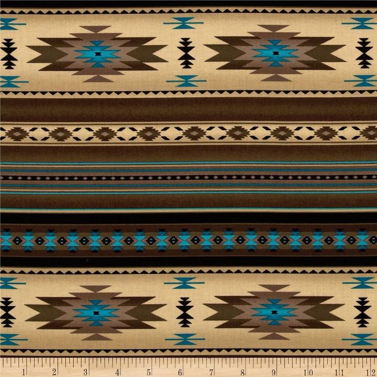 Tucson Stone Sepia from @fabricdotcom  Designed for Elizabeth's Studio, this southwestern inspired cotton print fabric is perfect for quilting, apparel, crafts, and home decor items. Colors include antique, brown, black and turquoise.