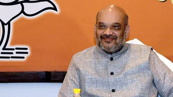 "BJP President Amit Shah on Thursday held a meeting with five union ministers and senior party leaders on preparations for the Gujarat Assembly elections and to chalk out a strategy to win more than 150 seats. The meeting, held at Shah's residence, was attended among others by union ministers Arun Jaitley, Narendra Singh Tomar, Nirmala … Continue reading ""Shah Meets Union Ministers To Prepare For Gujarat Polls"""