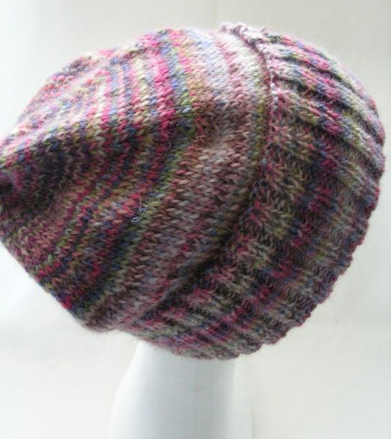 Wool Hat Adult Size Beanie by BaytreeStudio on Etsy   Pink and Purple to match my hair at the moment!   Adelaide, Australia