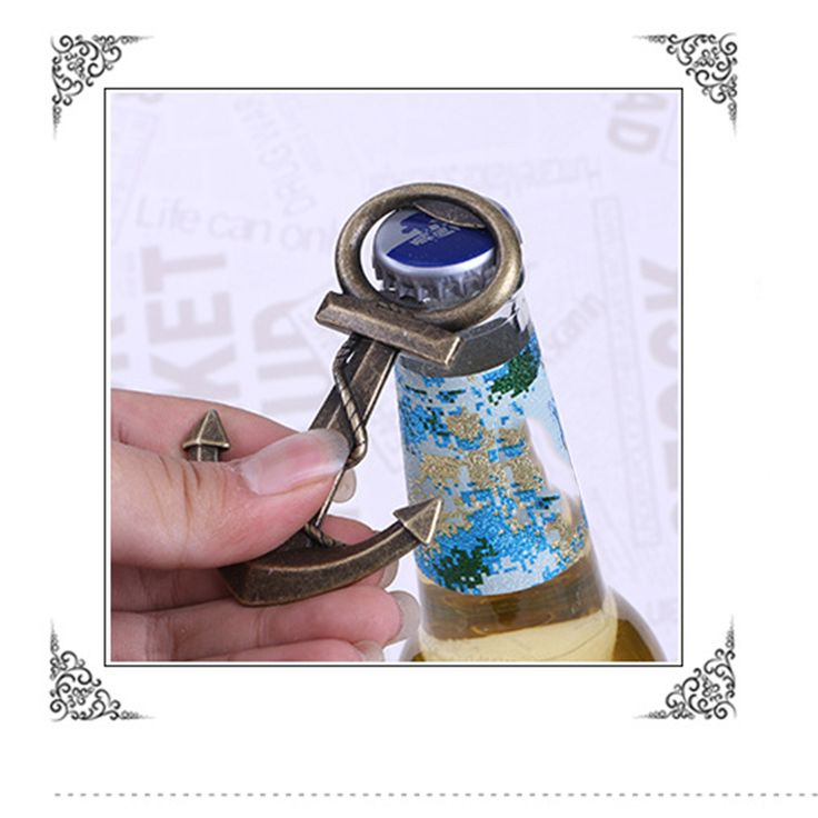 Aliexpress.com : Buy 2016 New Creative Wedding Birthday Vintage Anchor Shaped Bottle Opener Beer Opener Wedding Gifts from Reliable gift wrap tissue paper suppliers on Pingzi_Store
