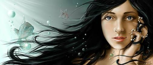 LucylArt / Amarine (digitálna maľba)