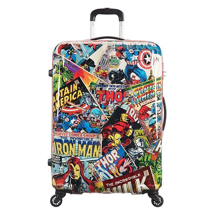 f9de2afb3 American Tourister maleta con ruedas grande Marvel Comics   Disney ...