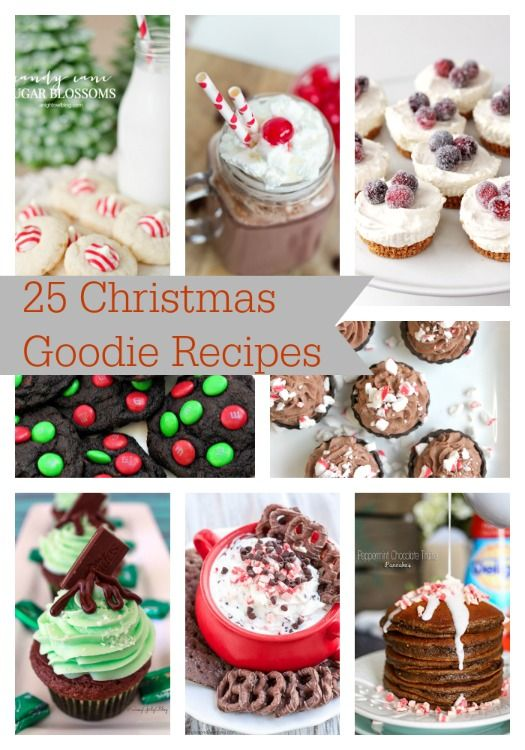 25 Christmas Goodie Recipes