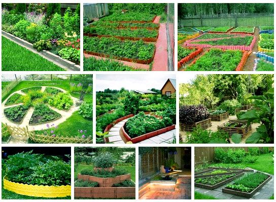 Делаем садовый красивый бордюр для УЧАСТКА