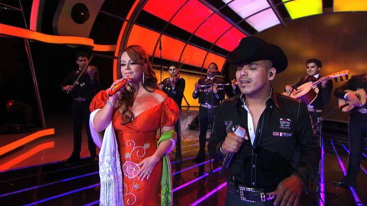 Jenny Rivera - Espinoza Paz - No Llega El Olvido - Juntos en vivo