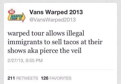 PTV Warped Tour< I laughed XD