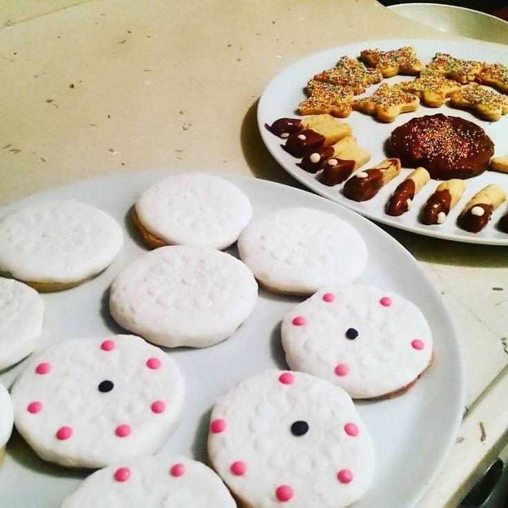 Badem unlu kurabiyeler #cookie