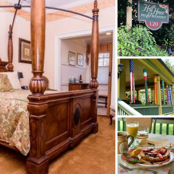 Hill House Bed and Breakfast is located in scenic