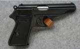 Walther PP , 7.65mm, Blued Pistol - Walther Pistols