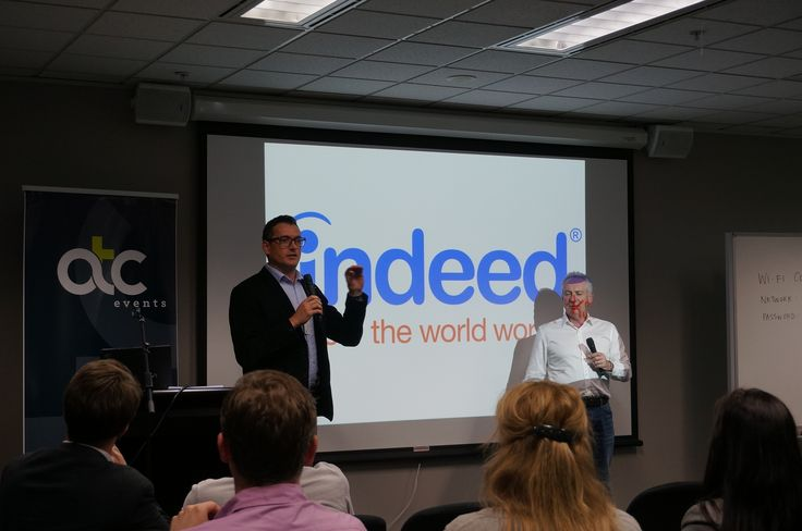 Indeed were one of the Gold sponsors of our 2014 Souring Social Talent Event in Melbourne, Sydney and Auckland.