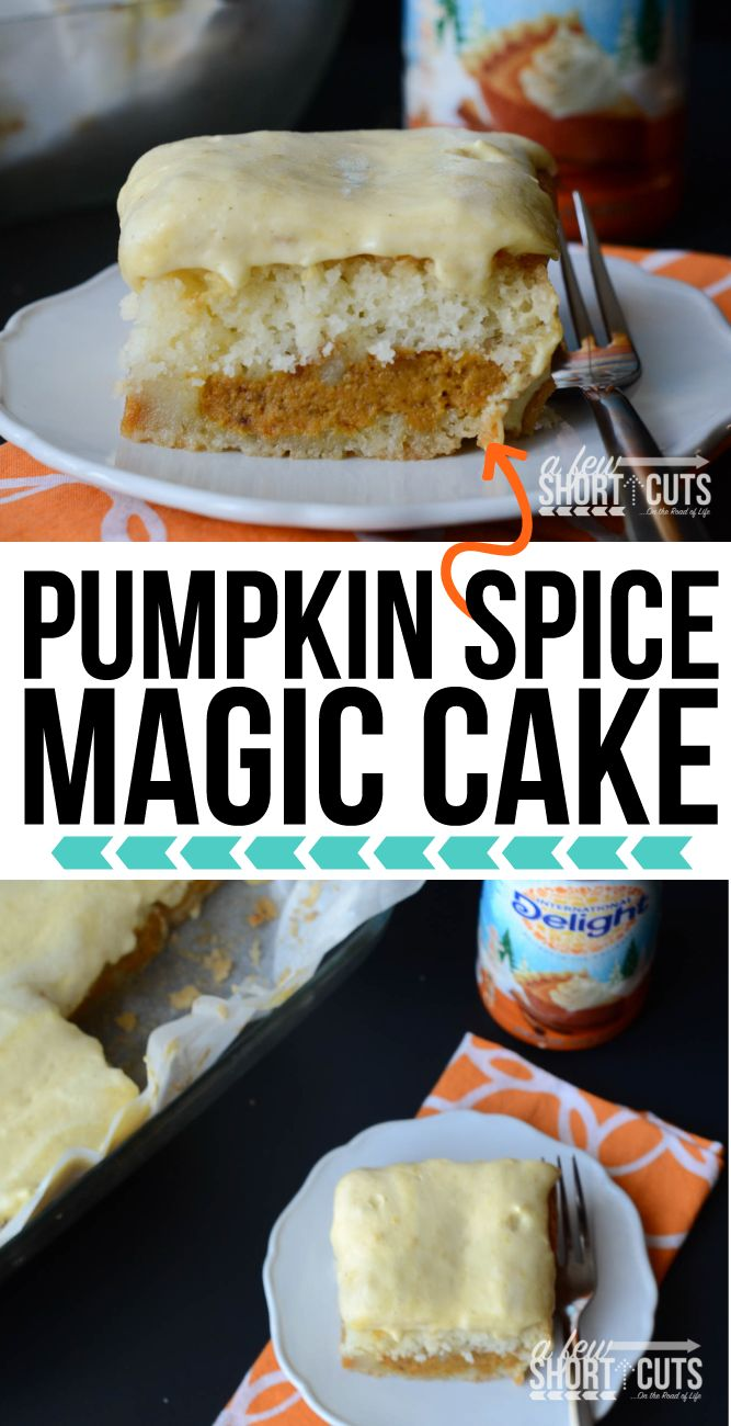 Check out pumpkin spice magic cake it s so easy to make