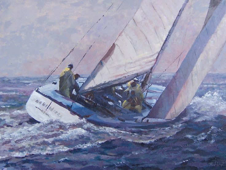 Sailing in rough weather # Maritime Paintings