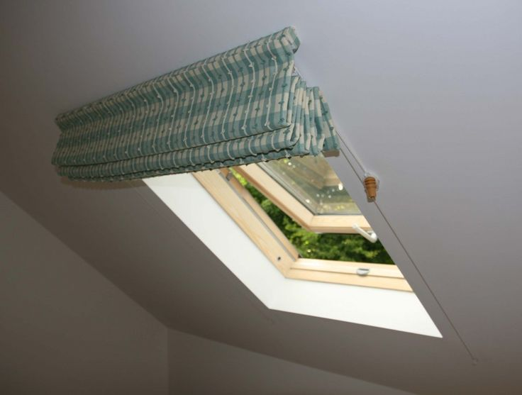 Roman Blinds for Sloping Ceilings
