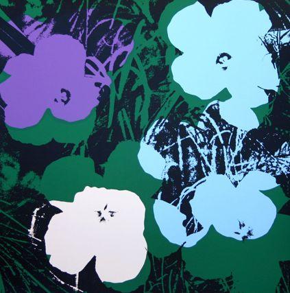 Andy Warhol, Flowers.