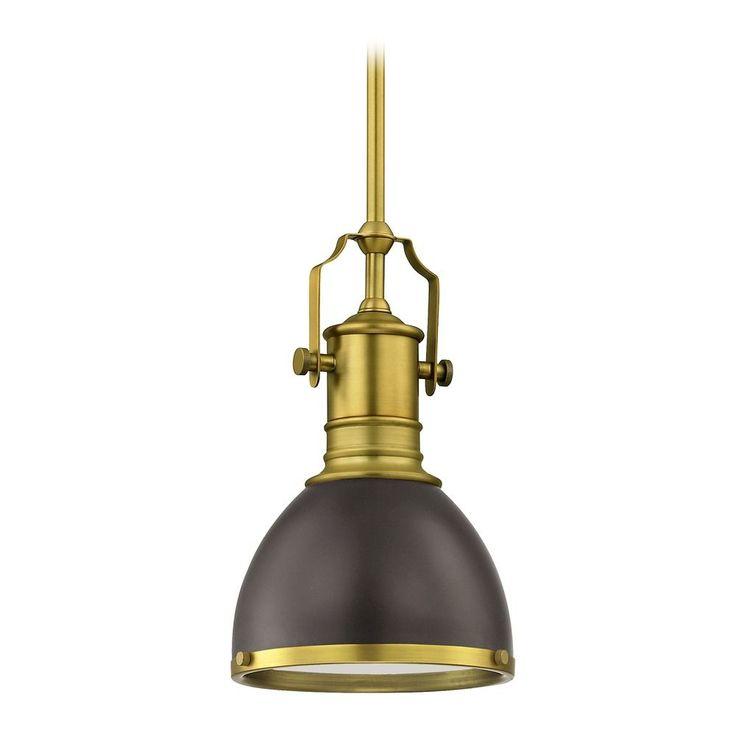 Design Classics Lighting Farmhouse Industrial Black Small Pendant Light 7.38-Inch Wide 1765-12 SH1775-220 R1775-12