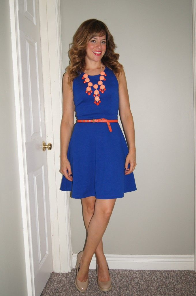 242 best images about style cobalt royal blue on for Jewelry to wear with coral dress