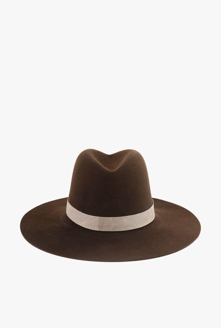 Janessa Leone - Lou Beaver Hat