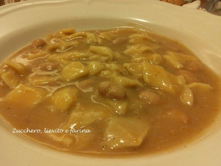 Pasta e fagioli alla friulana | zucchero, lievito e farina
