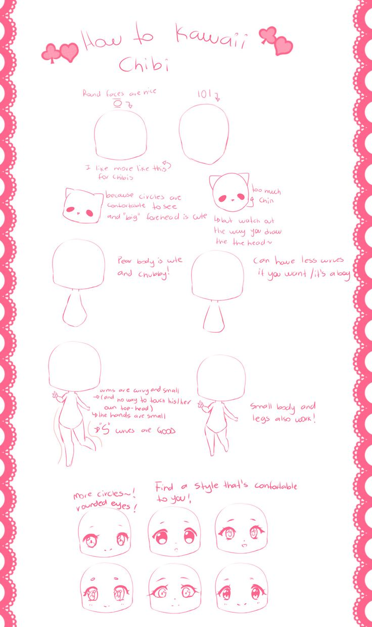 how to kawaii chibi by hyanna