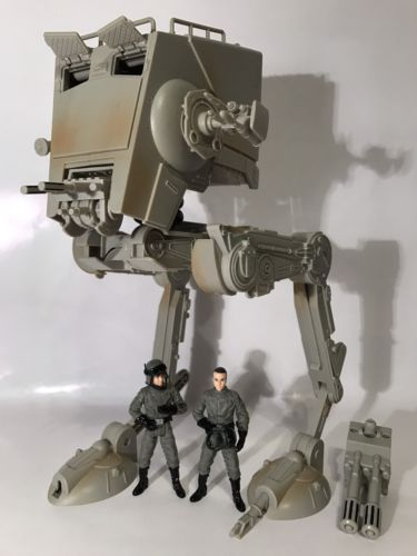 Star Wars Legacy AT-ST Imperial Scout Walker Drivers Near Complete Walmart Rare in Toys & Hobbies, Action Figures, TV, Movie & Video Games | eBay