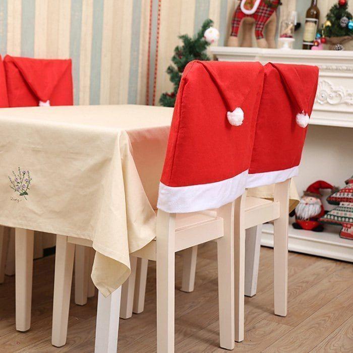 Christmas Decorations Christmas Chair Cover 4pcs Christmas Decorations Christmas Chair Cover 4pcs Christmas Chair Covers Christmas Chair Christmas Table Settings