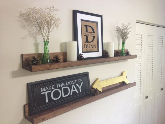 Best 25+ Ledge shelf ideas on Pinterest | Photo ledge display, Picture ledge  shelf and Picture ledge