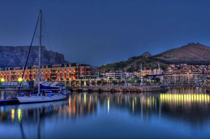 5 star luxury at the Cape Grace hotel at the Waterfront.