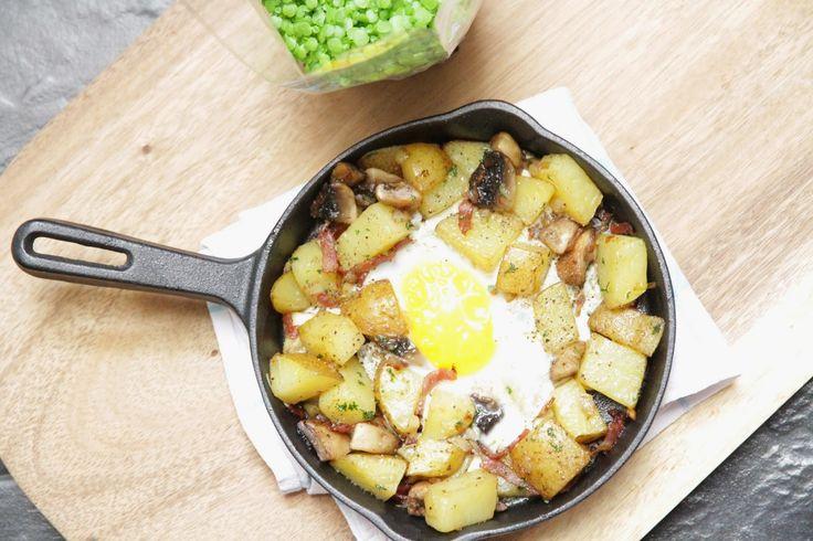 e.e.r.f kitchen: Hearty Potato, Bacon and Egg