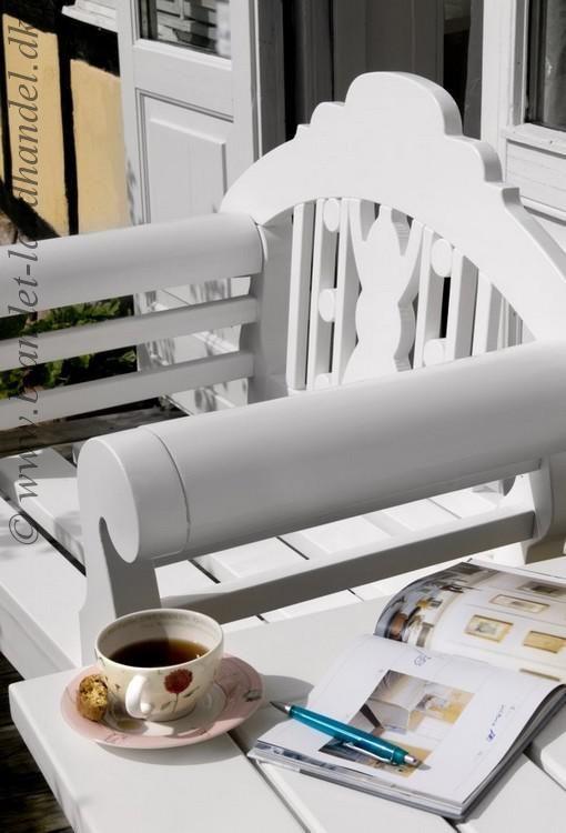 TROUVILLE - sæt havemøbler - FIRE stole og bord