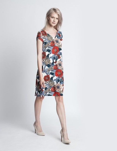 Sukienka kwiatowa Arden