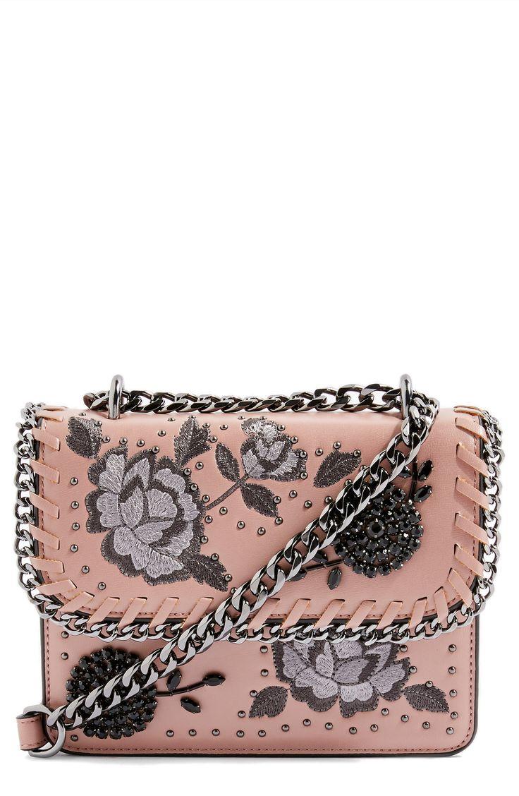 Rio Floral Crossbody Bag - Topshop #floral #floralbag #handbag #floralprint #affiliatelink