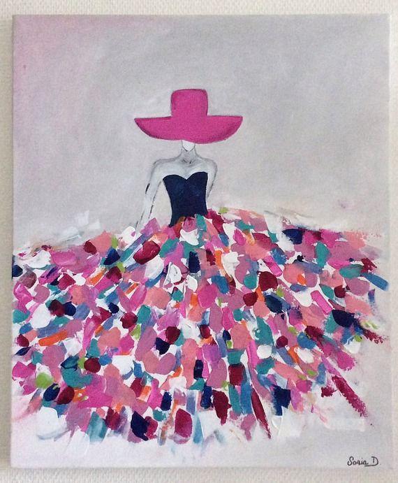 1000 id es sur le th me robe color e sur pinterest robes for Idee de peinture facile