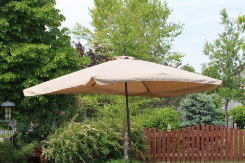 Save $ 180 when you buy Rectangle Outdoor Patio Umbrella – Java at Patio F