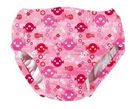 Zwemluier roze vis