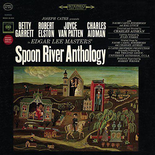 Charles Aidman & Naomi Caryl Hirshhorn | Spoon River Anthology | CD 2811 | http://catalog.wrlc.org/cgi-bin/Pwebrecon.cgi?BBID=16717347