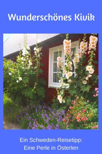 Schweden Reisetipp: Kivik in Skane, in der Region Österlen. Ein wunderschönes Urlaubsziel auch für Familienurlaub. #schweden #reisen