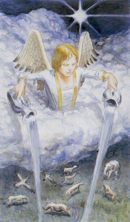 каждому картинка карты таро ангел часть нашей