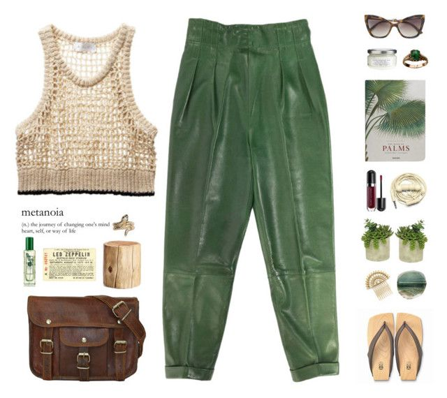 """#bohochick"" by pihta66 ❤ liked on Polyvore featuring Taschen, Urbanears, Marc Jacobs, Threshold, A.L.C., West Elm, Stussy, Jo Malone, Davines and Mizutori"