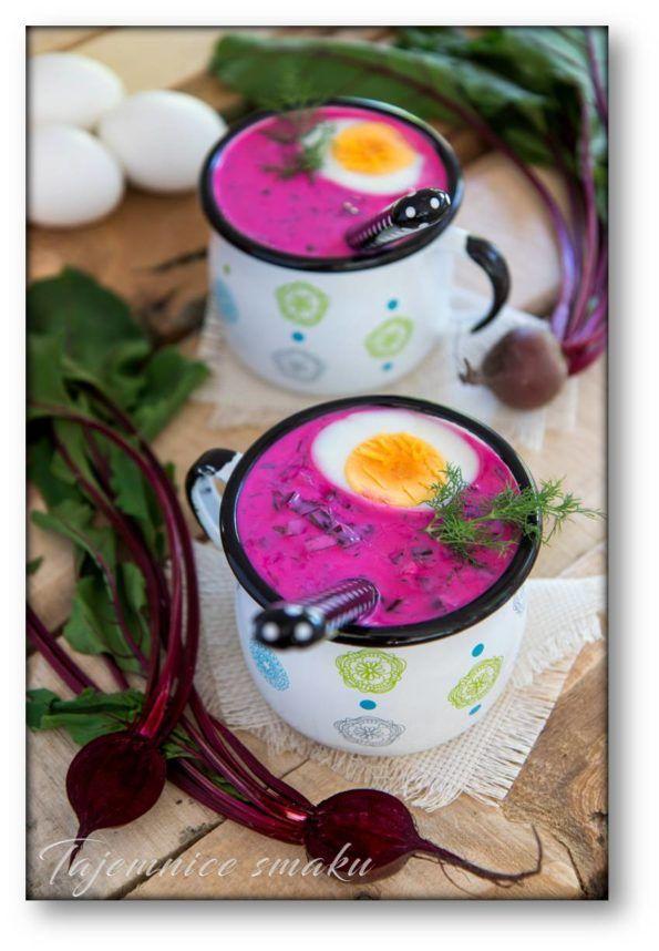 Chłodnik z botwinki z kefirem i jogurtem – Tajemnice smaku