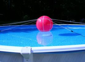 Pool-Tree Winter Cover support system for above ground round pools