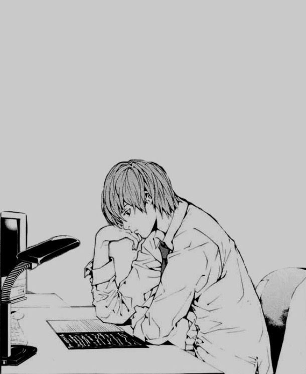 Image result for light yagami manga